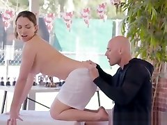 Masseuse Lily Love Pleasures Big Cock Of Client