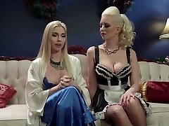 Pornstar porn video featuring shemale sister fuck Torn and Christie Stevens