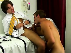 Gay clip of Hunky patient Austin Ried is bare and rock hard