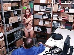 ShopLyfter - Skinny Babe Vanna Bardot Rammed By The Guard