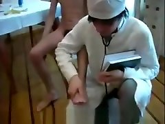 medical examination of Russian guys