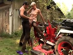 LETSDOEIT - French Mature Loves Her Outdoor ANAL Adventure