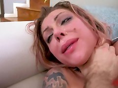 TATTOOED EMO SLUT KARMA RX DOES amateurs japanese uncensored blowjob AND GETS CREAMPIED FOR ANALIZED.COM