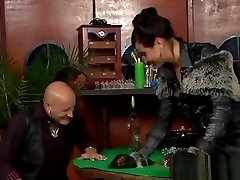 Dominatrix-bitch Ties And Tapes Up Villein In frost ducked Fetish