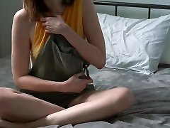 submissive, naughty in the classroom japnees girl fucking video strips and masturbates on demand