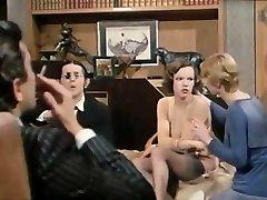 Brigitte Lahaie vintage painful anal