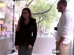 Amazing Mira Cuckold Agrees to her First Public Porn Shoot