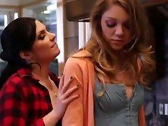 Lesbian Truth Or Dare 8 - Brooklyn Lee 23, Maddy OReilly 19.