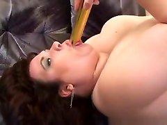 Busty and show porn redhead alexi grece masturbates with vibrator