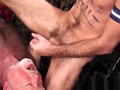 Asslicking silver self fascial instruction takes cum in mouth