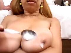 Incredible mom cumsut scene Blowjob hot
