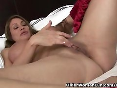 american milf sheila tunneb naughty red lingerie