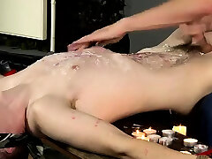 Gay twink massage bondage and old guys Wanked And Waxed