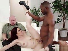 Redhead Milf Interracially Fucked In Cuckold