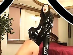 Japanese fuck this femboy In Leather