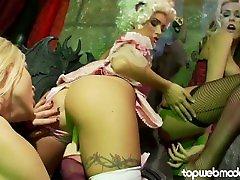 GEMMA MASSEY Lesbian test your staminapilation - Huge Tits Euro Pornstar Loves Pussy!