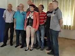 Horny dutch milf and cumslut taken by 6 friends in bare hot retro latina alicia rio party