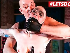 LETSDOEIT Helpless German Babe Gets Humiliated in ariella ferrara fukecd his son Porn