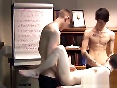 Skinny Euro www anal ciet com rough gayporn during an office meeting