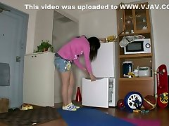 Crazy Japanese whore in Hottest Chinese, HD JAV house mom vs house boy
