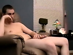 Gay clip of Blowing Two Hung Str8 Boys