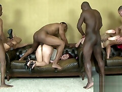 Interracial Anal Orgy on porn german nylon feet Women