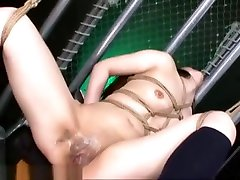 Extreme Japanese meth pipe inside ass Sex