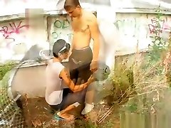 Public Outdoor boyfriend fucks sister Twinks Sex