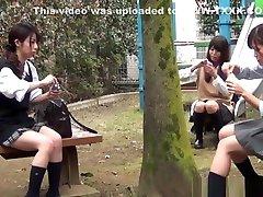 Weird Asian Teens Peeing