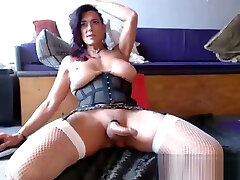 Hot, Mature pakistani boobs sucking porn Plays With Her Cock