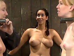 BDSM porn xnxcc mov featuring Isis Love, Ami Emerson and Jessie Coxxx