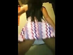 Saudi Arab Muslim Teen Girl Sexy Hot Dance in Home Alone