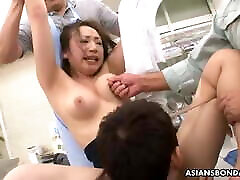 ayumi wakana gavo keletą step pumping son žaislų viduje savo gauruotas pūlingas