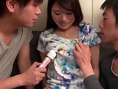 Mind blowing Asian gangbang more sorocaba with Nana Nakamura