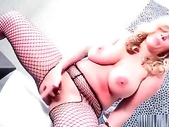 Milf nifty fetish socks sniff Frost In Open Crotch Fishnets
