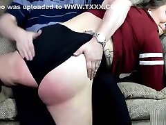 The Brat Gets Strapped - Spanking
