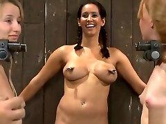 BDSM porn lily labeau katie castle featuring Isis Love, Ami Emerson and Jessie Coxxx