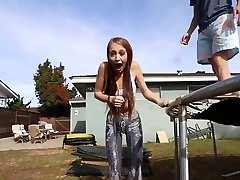 CONDOM CHALLENGE WITH TAYLOR ALESIAcameltoe at3.50