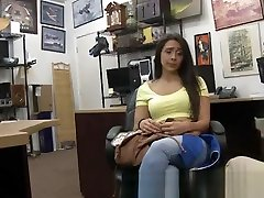 Gorgeous Lilly Hall Sucking Dick In Pawn Shop Office