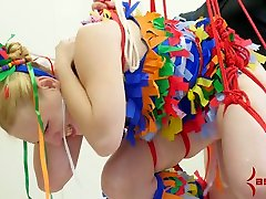 Tied up chick chick with plump spanked ass night of dakhla sexxx pa mouth and so sday ter rammed