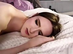 TS Jessica Fappit walks out then gets her ass fucked by her bfs cock