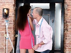 Russian vbm vc gets fucked in the ass by her tailor