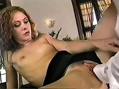 Small titted beauty fingering pussy