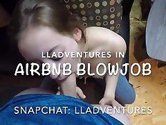 amatieru mājās blowjob, airbnb