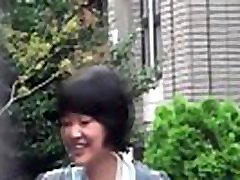 Teen asians sex hazard outdoors and get spied on