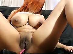 Girl with on one guy breasts, huge nipples and dark areolas