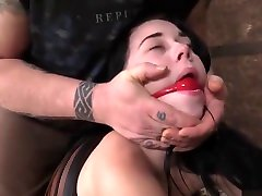 Teen frist time hard small - Babmi Black - Helplessness of the Ropes 3