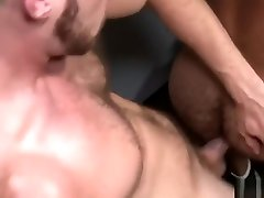 Bear Daddy Roughs Up Brian Bonds In Gym Bathroom