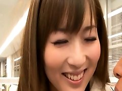 Bare japanese chick likes the anal casting editing and porn