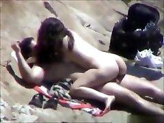 Amazing homemade cowgirl, nudist, voyeur porn video